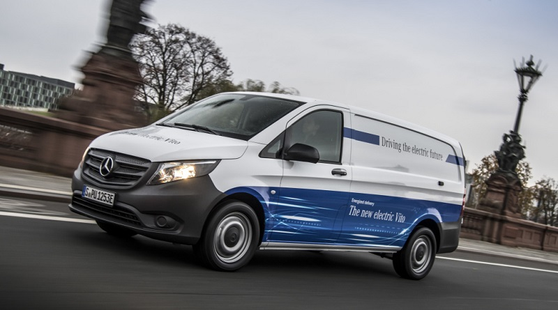 Mercedes-Benz eVito consegne dalla seconda metà 2018