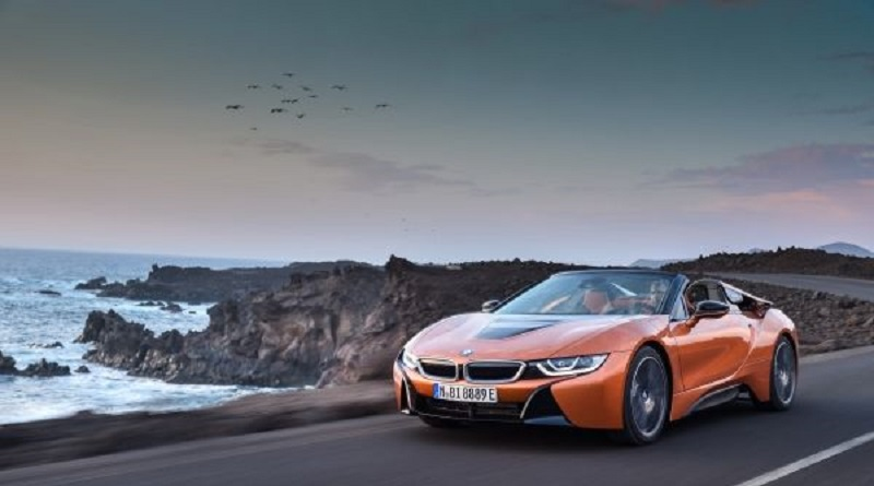 Los Angeles 2017 BMW i8 Roadster