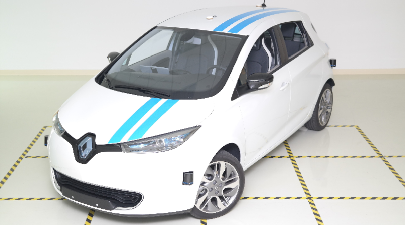 Renault Open Innovation Lab della Silicon Valley Zoe Callie autonoma