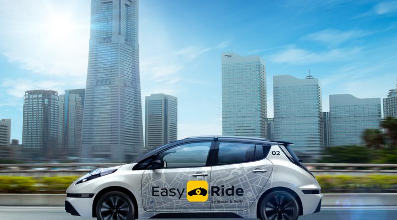 Nissan e DeNA offriranno il servizio di mobilità condivisa ed autonoma Easy Ride