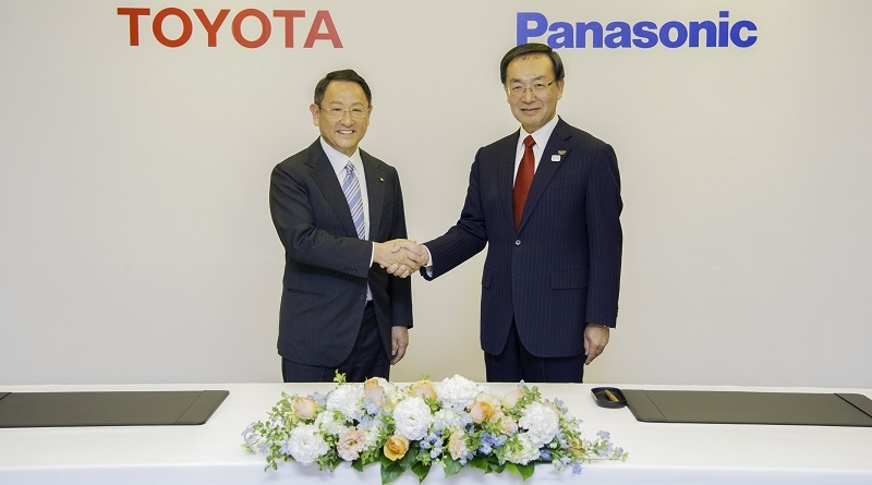 Nuovo accordo Toyota/Panasonic sulle batterie prismatiche per auto