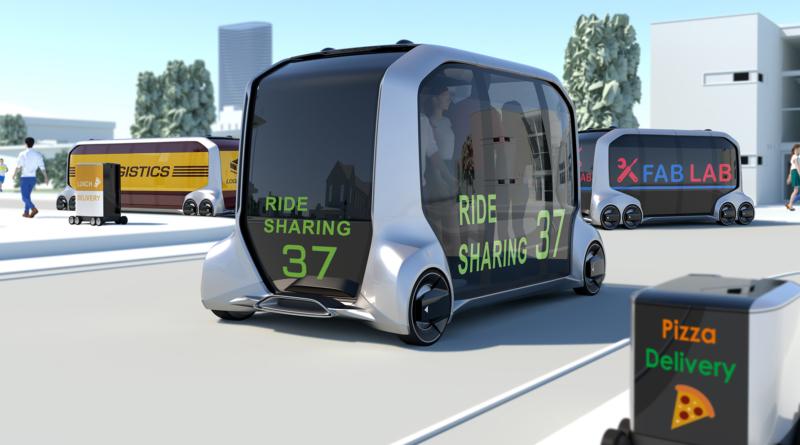 Al CES 2018 Toyota lancia lo shuttle autonomo e-Palette