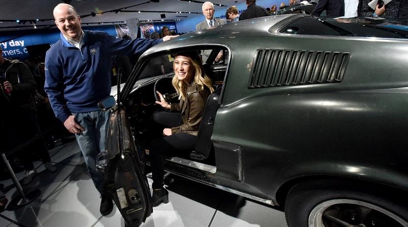 Al salone di Detroit 2018 Ford scende dalla Mustang