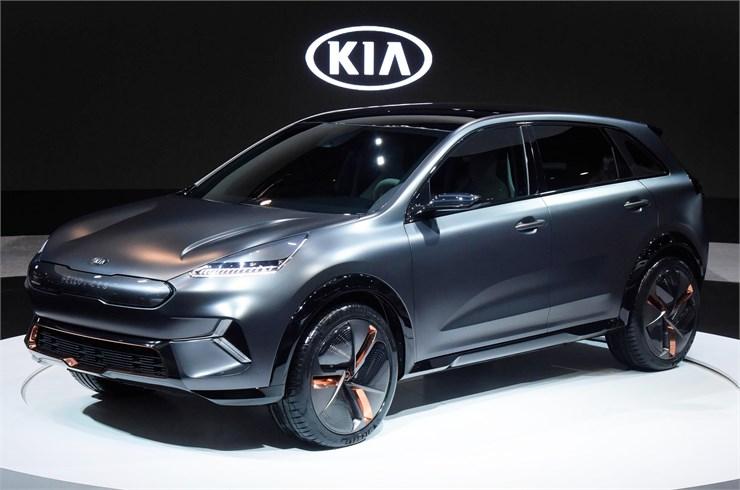 Kia concept Niro EV presentato al CES 2018