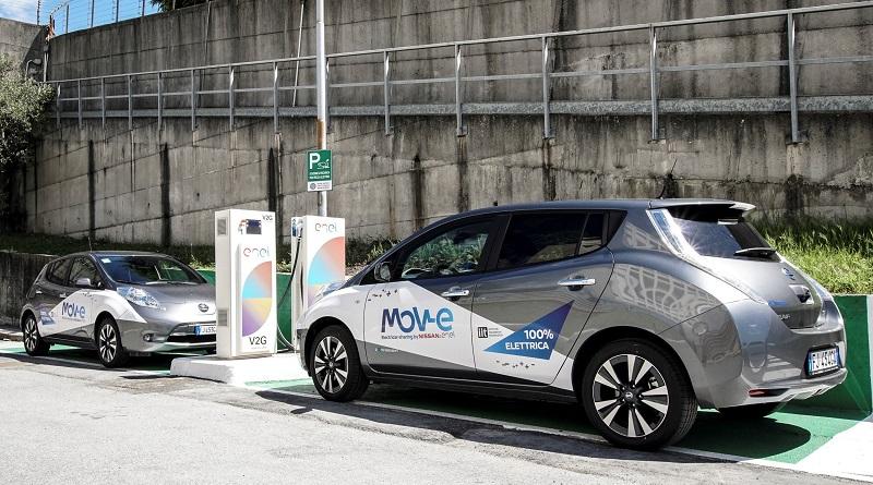 Nissan Leaf leader vendite auto elettriche Italia 2017