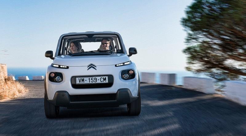 La nuova Citroën E-Mehari punta ad essere un'auto per tutte le stagioni