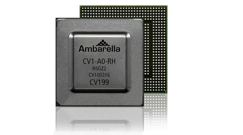 Ambarella chip CV1 CES 2018