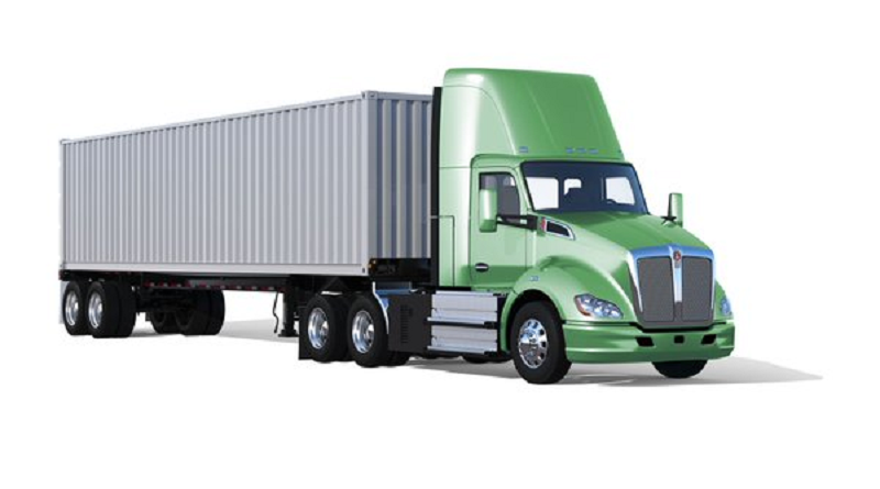 Al CES 2018 debutta il Kenworth T680 fuel cell