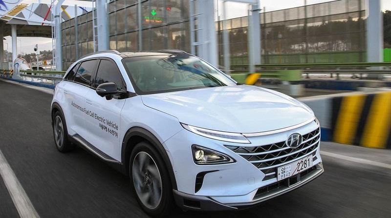 Hyundai festeggia il successo del test di guida autonoma sulla Nexo fuel cell