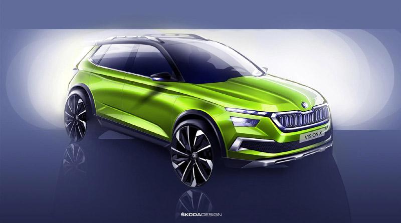 Il concept Skoda Vision X ha battuto sul tempo i progetti di Marchionne?