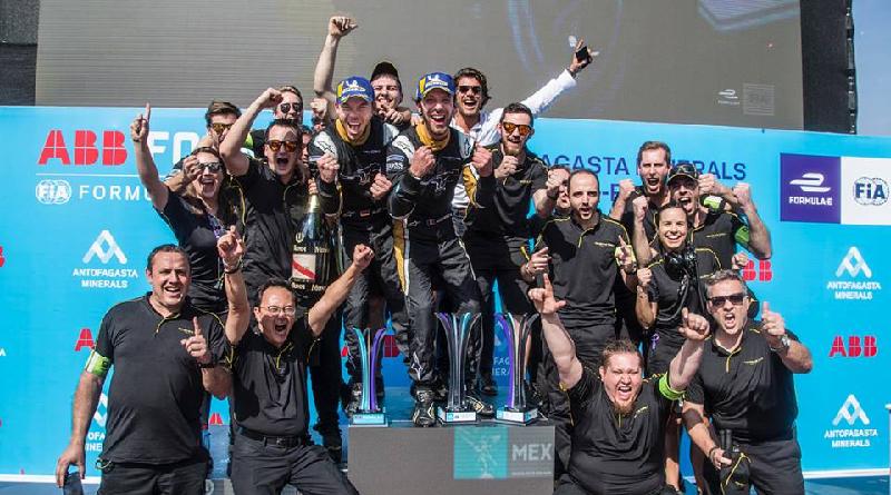 podio Santiago Formula E doppietta Techeetah