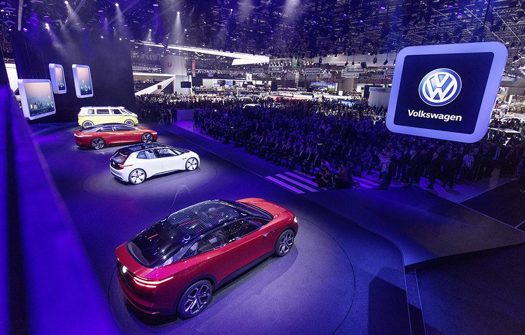 Volkswagen I.D. Vizzion salone di Ginevra 2018