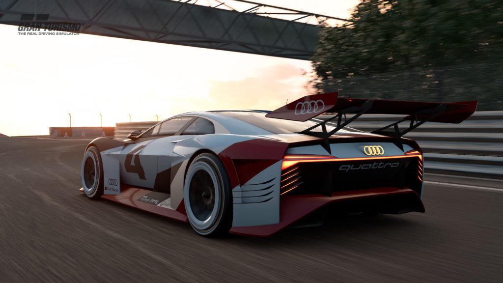 Dalla Playstation alla pista: è la genesi dell'Audi e-tron Vision Gran Turismo 1
