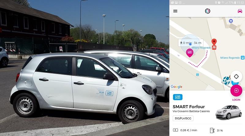 Il car sharing alla prova del fuoco: il salone del mobile di Milano