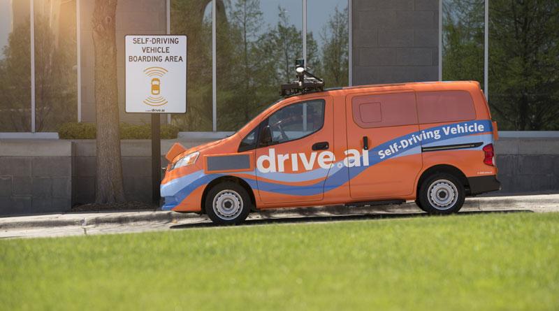 A luglio inizia il servizio di shuttle a guida automatica di Drive AI 1