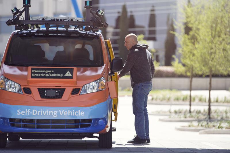 A luglio inizia il servizio di shuttle a guida automatica di Drive AI