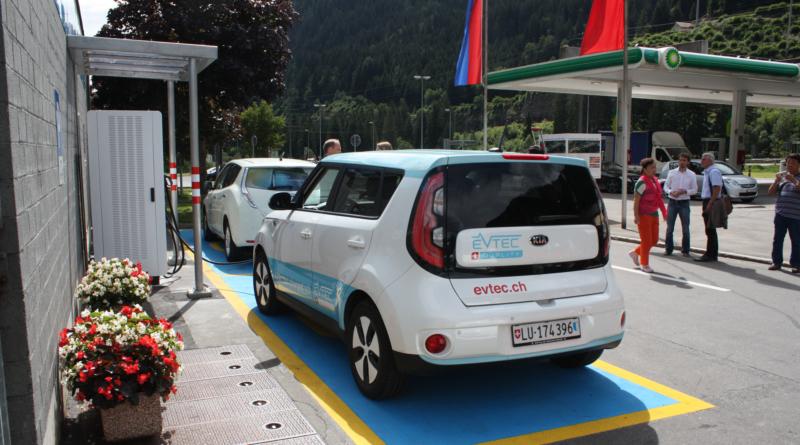 La Svizzera vuole una quota di auto elettriche a 15% già nel 2022