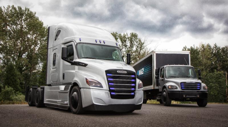 Con due nuovi Freightliner Daimler porta la scintilla elettrica anche in America