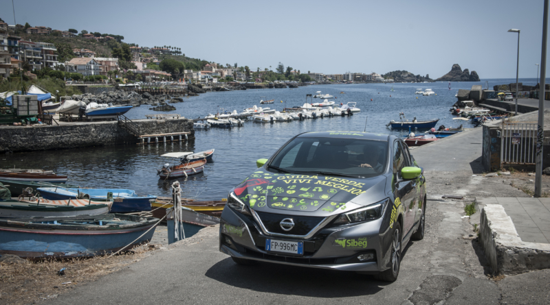 Con la seconda fase del Green Mobility Project 110 Nissan Leaf in azione