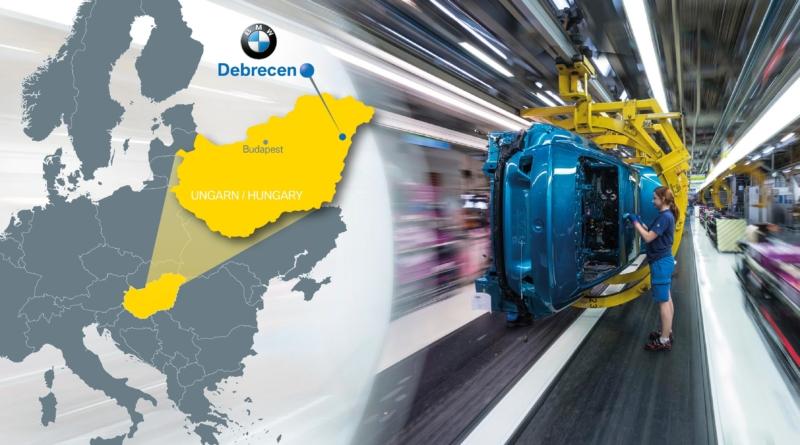 Puntando un miliardo sul nuovo stabilimento BMW in Ungheria vuole flessibilità