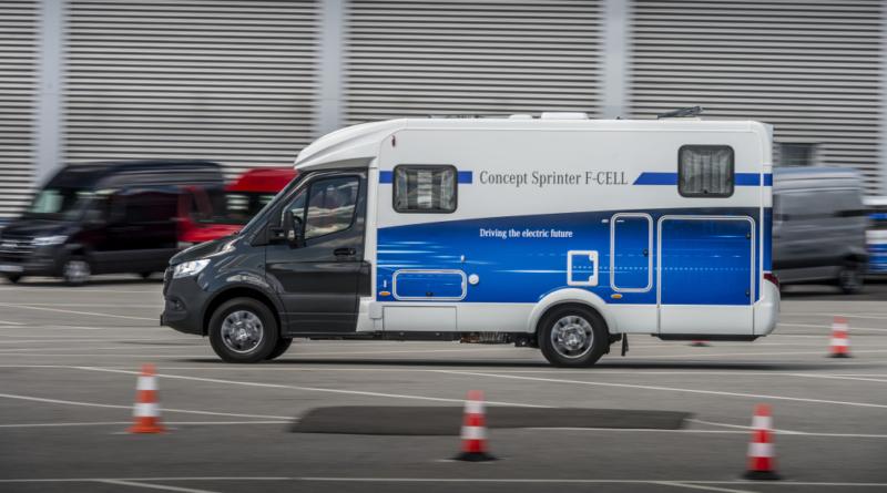 La divisione mezzi commerciali Mercedes-benz sorprende col Concept Sprinter F-CELL