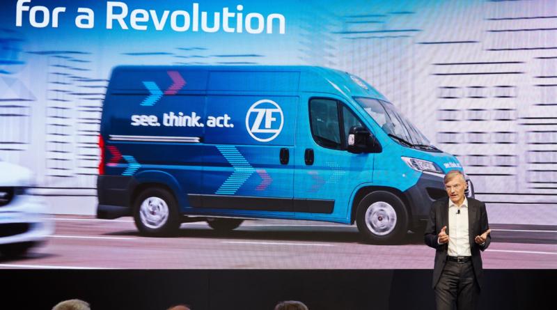 Due anni di attesa per vedere in azione i furgoni autonomi ZF Innovation Van