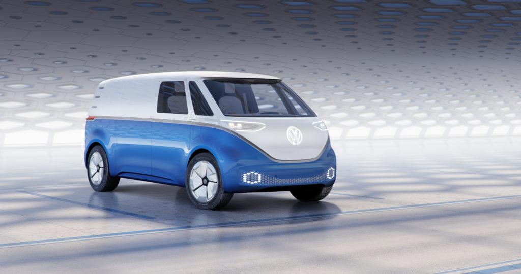 Al Salone dei veicoli commerciali di Hannover stand affollato per Volkswagen 1