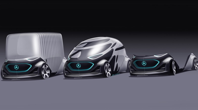Secondo Mercedes-Benz alla città del futuro non basterà il robo-taxi e va oltre