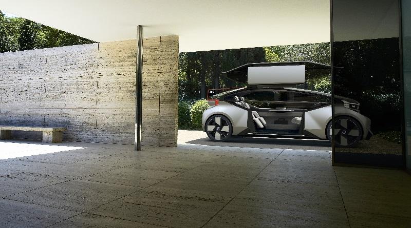 Sul concept Volvo c360 potrete dormire oppure prendere uno spritz: guida lui