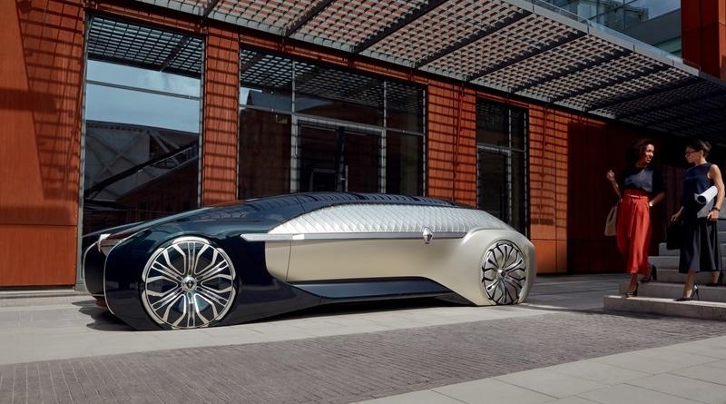 Al Salone di Parigi sul robo-taxi, ma solo per VIP, Renault EZ-Ultimo