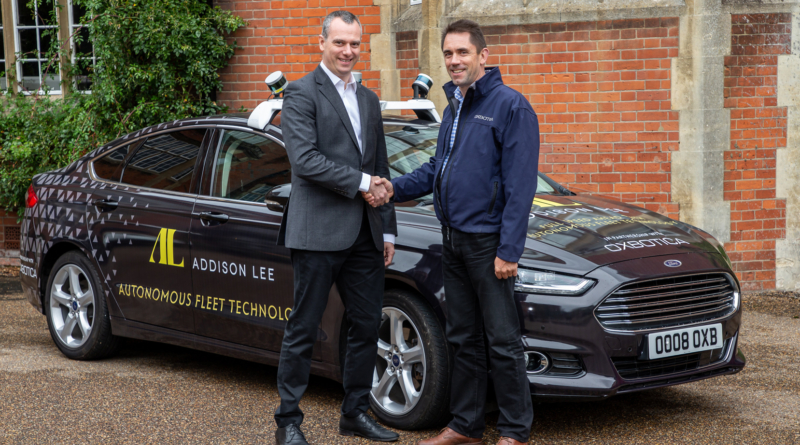 """La """"terza via"""" dei robo-taxi parte a Londra con l'accordo tra Addison Lee e Oxbotica"""