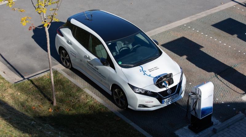 Nissan Leaf è la prima auto elettrica certificata V2G per l'integrazione nella rete elettrica