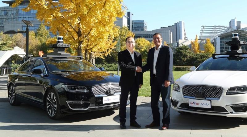 Nuovo accordo tra Ford e Baidu: test su auto a guida autonoma da fine 2018