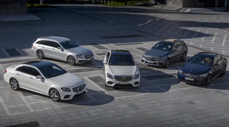 Per continuare a viaggiare in città si rinnova la gamma Mercedes-Benz ibrida plug-in 1