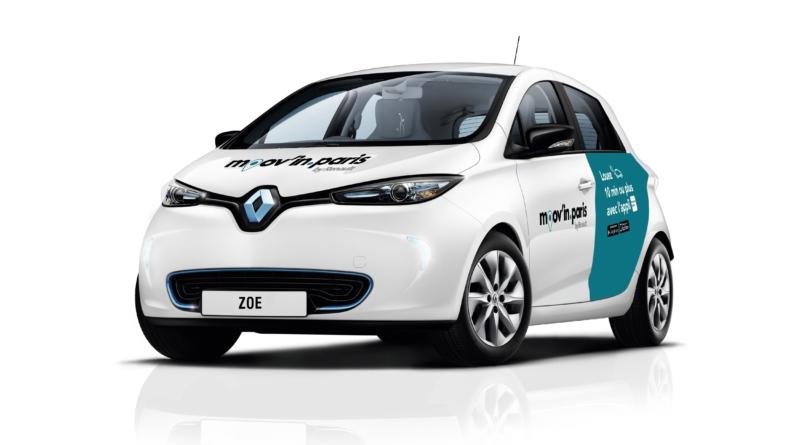 Per la mobilità elettrica condivisa Renault e ADA puntano sull'app Moov'in.Paris