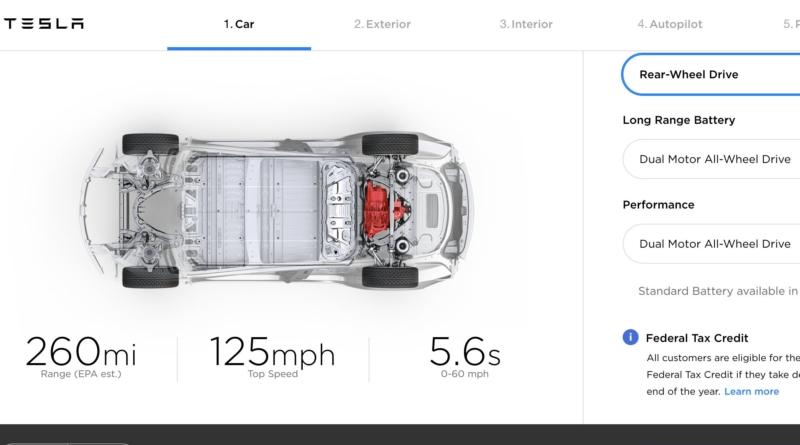 Poco alla volta Tesla si avvicina alla Model 3 da $35.000: ma prima quella da $45.000