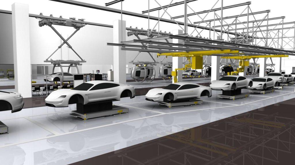 Porsche avvia la pre-produzione Taycan nel rinnovato impianto di Zuffenhausen