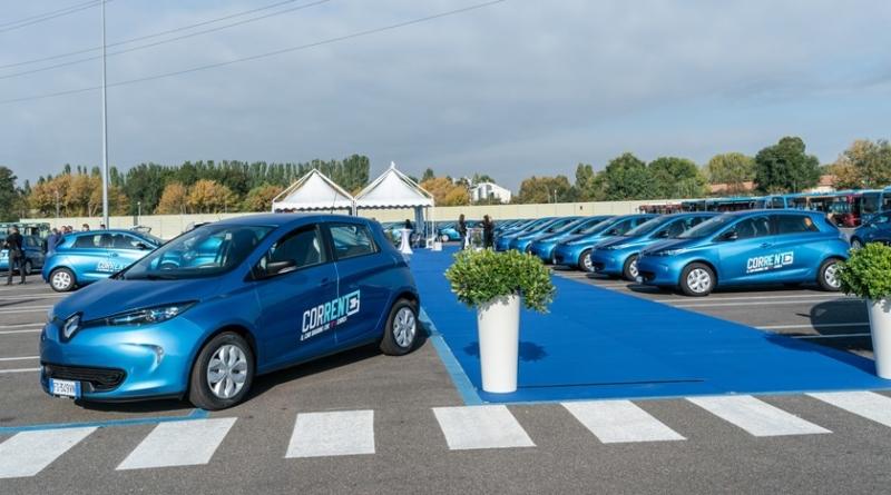 Renault Bologna car sharing elettrico