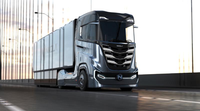 Prime immagini del Nikola Tre, il camion a idrogeno e autonomo per mercato europeo