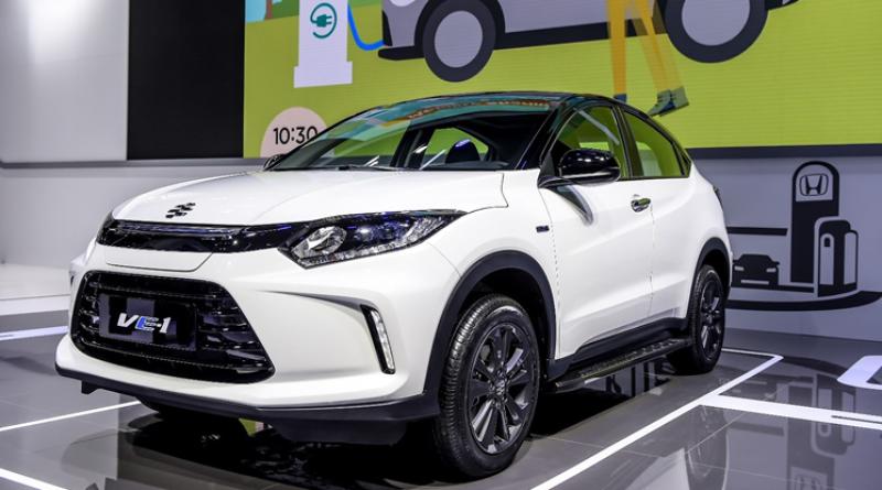 Per la Cina Honda va sul sicuro con la Everus VE-1, il suo primo crossover elettrico