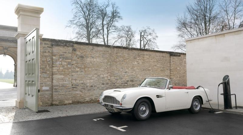 """Lo """"tsunami"""" elettrico"""" iniziato col Royal Wedding di Harry e Megham sommerge anche Aston Martin 1"""