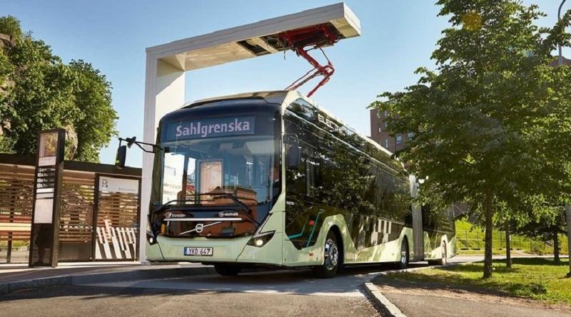 """""""Second Life"""" anche per le batterie agli ioni di litio degli autobus Volvo"""