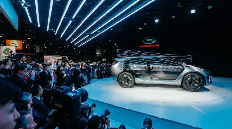 """GAC Motor """"gioca in trasferta"""" a Detroit per presentare il concept elettrico Entranze EV"""