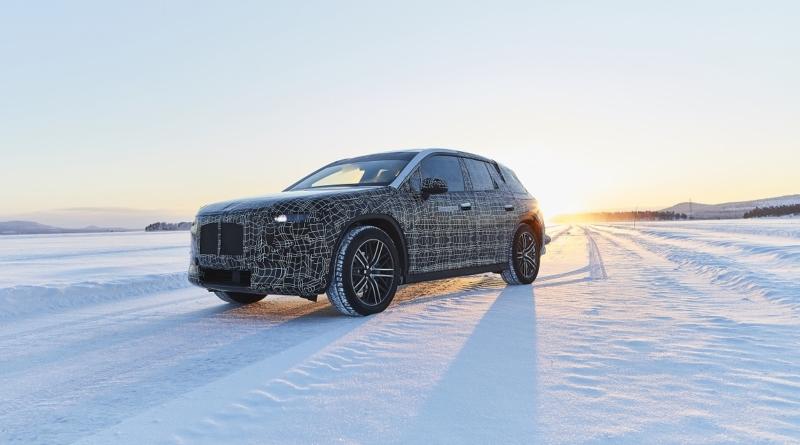 Le BMW iNext pre-serie sfidano le alba gelate per imparare a difendersi dal Vortice Polare