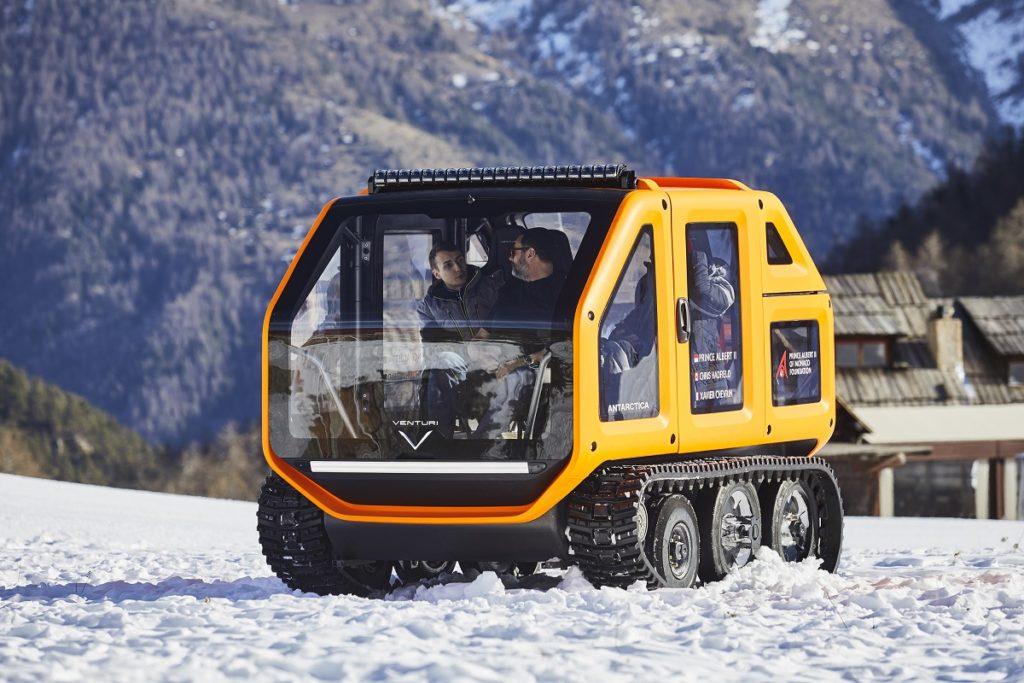 Le BMW iNext sfidano le albe gelate per imparare a difendersi dal Vortice Polare 1