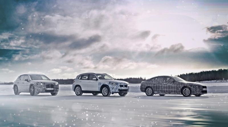 Per i test delle sue prossime elettriche al Circolo Polare Artico BMW non cercaautonomia delle elettriche BMW la primavera