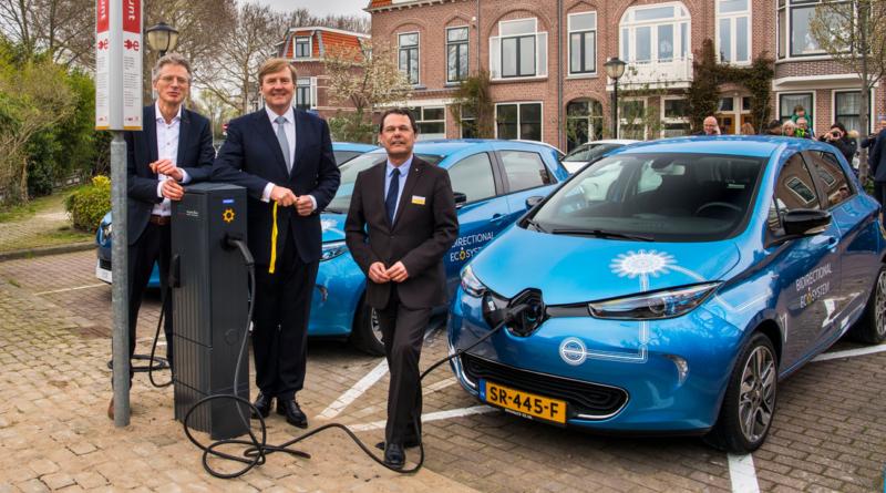 """Si è scomodato anche il Re d'Olanda per inaugurare il nuovo progetto """"vehicle-to-grid"""""""