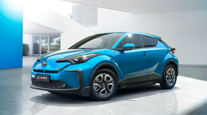 A Shanghai Toyota svela la C-HR tutta elettrica, prima di dieci modelli in arrivo