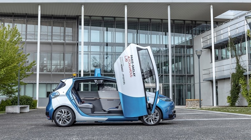 Inaugurato il Paris-Saclay Autonomous Lab, vetrina e laboratorio del trasporto autonomo