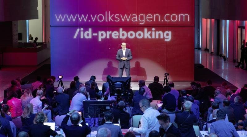 Volkswagen ha aperto i pre-ordini ID3, la prima auto sulla piattaforma elettrica MEB